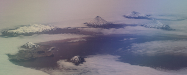 Four Mountains Islands, Aleutians, May 15, 2014