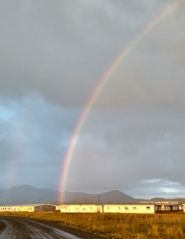 Rainbow, Adak, September 16, 2016